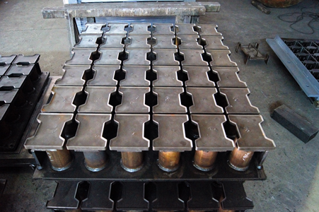 Punch paving slab coil